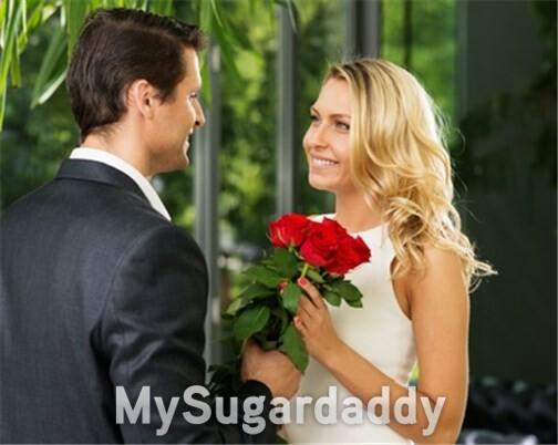 cavalheiro dando flores para uma dama