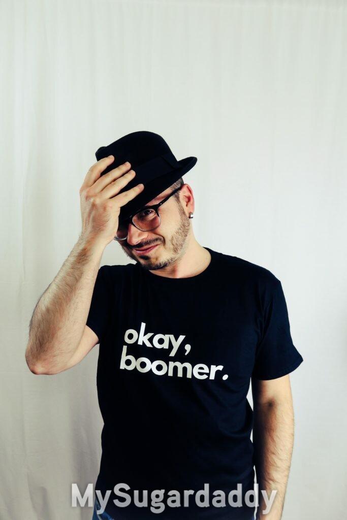 Okay, boomer