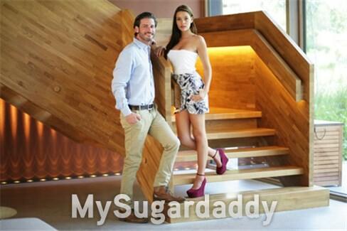 Casal de Sugar Daddy e Sugar Baby
