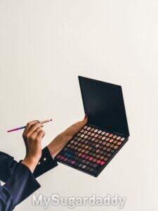 A arte da maquiagemn, paleta de cores